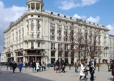 Hotel Bristol, Warszawa - Realizacja KAMEN