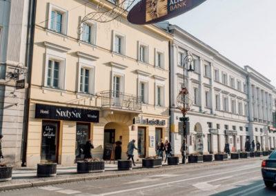 Hotel SixtySix, Warszawa - Realizacja KAMEN